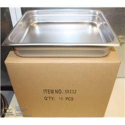 NEW STEAM PANS - ONE BOX