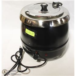 NEW SOUP KETTLE WITH LID 10 LITRES
