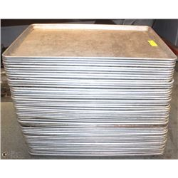 LOT OF APPROX. 50 FULL SIZED BAKING SHEETS