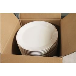 CASE OF NEW ROUND PLATES- 24 PER CASE