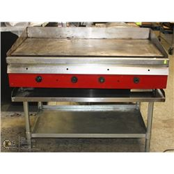 "48""X24""X1"" STEEL FLAT TOP GRILL-GAS"