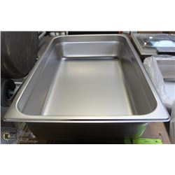 "NEW STAINLESS STEEL FULL SIZE PAN INSERT 4""DEEP"