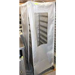 10 SLAT STAINLESS STEEL BAKERS RACK W/ NYLON