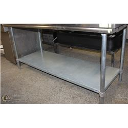 "72""X30""X33.5"" DUKE STAINLESS STEEL COMMERCIAL PREP"