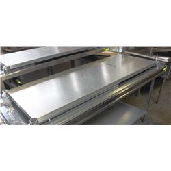 "72""X30.5"" STAINLESS STEEL COMMERCIAL PREP TABLE"