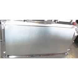 "60""X30"" STAINLESS STEEL COMMERCIAL PREP TABLE,"