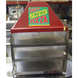 3 LEVEL PIZZA SERVING DISPLAY