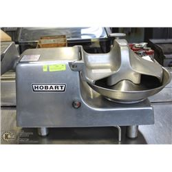 HOBART BUFFALO CUTTER WITH ATTACHED MEAT GRINDER