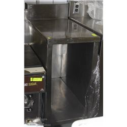 STAINLESS STEEL COMMERCIAL PREP CABINET EXT