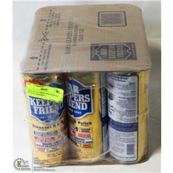 CASE OF 12 LARGE BAR KEEPERS FRIEND CLEANING
