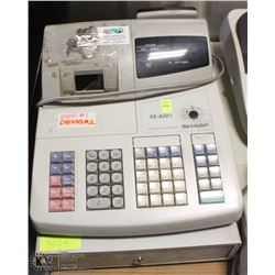 SHARP XE-A201 CASH REGISTER