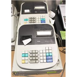 LOT OF 2 ROYAL 110DX CASH REGISTER