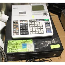 CASIO PCR-T520 CASH REGISTER W/ KEYS