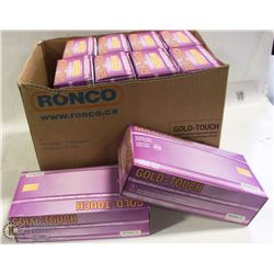 CASE OF RONCO GOLD-TOUCH POWDER FREE XL DISPOSABLE