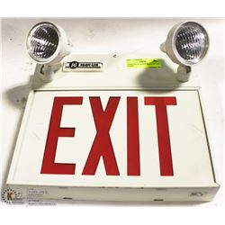 EMERGENCY LIGHTS WITH EXIT LED LIGHTS