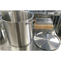 80QT EXTRA HD STAINLESS STOCK POT INDUCTION CAP.