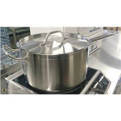 10QT HD STAINLESS SAUCE PAN INDUCTION CAPABLE