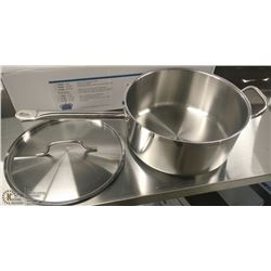 7.5QT HD STAINLESS SAUCE PAN INDUCTION CAPABLE