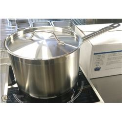 6QT HD STAINLESS SAUCE PAN INDUCTION CAPABLE