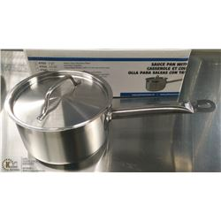 2QT HD STAINLESS SAUCE PAN INDUCTION CAPABLE