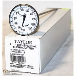 NEW TAYLOR TEST THERMOMETER LARGE FACE