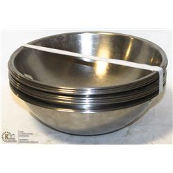 "10 STAINLESS STEEL 10"" BOWLS"