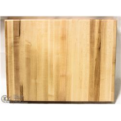 "16"" HARD CANADIAN MAPLE CARVING BOARD"