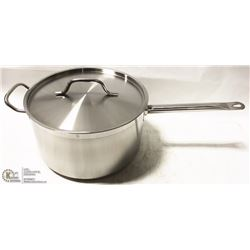 10 QUART INDUCTION CAPABLE HEAVY DUTY SAUCE PAN