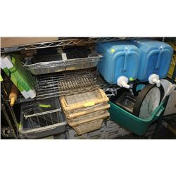 LARGE LOT OF MISCELLANEOUS HOUSEGOODS: