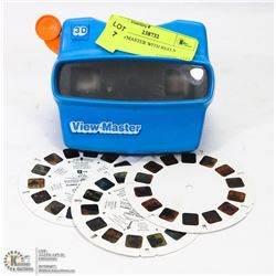 3D VIEWMASTER WITH REELS