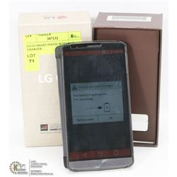 LG G3 SMART PHONE WITH CASE, NO CHARGER