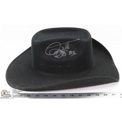 SIGNED BRETT KISSELL COWBOY HAT