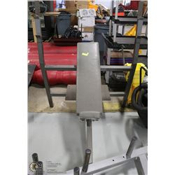 FIXED INCLINE BENCH PRESS