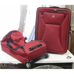 TWO PCS TRAVEL PRO LUGGAGE SET