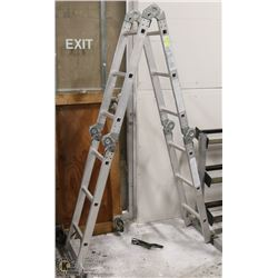 6FT - 12FT MULTI FOLD ALUMINUM LADDER