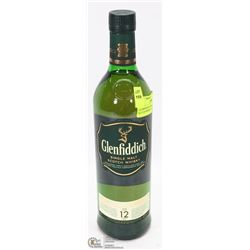 GLENFIDDICH SINGLE MALT SCOTCH WHISKEY 12 YEARS