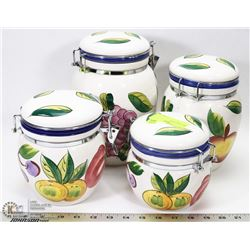 4PC CANISTER SET