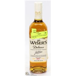 JP WISERS DELUXE RYE WHISKEY 750ML 40%