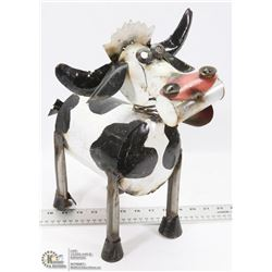 DECORATIVE FOLK ART DAIRY COW