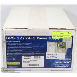 SECURITRON BPS-12/24-1 POWER SUPPLY, NEW IN BOX