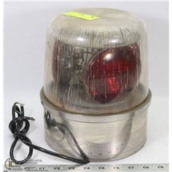 VINTAGE POLICE CAR BEACON, UNTESTED