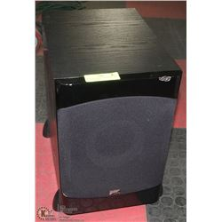 SINCLAIR AUDIO SUB WOOFER 200 WATT, 120 VOLT