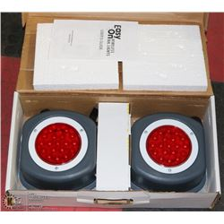 SET OF MAGNETIC WIRELESS LED TAIL LIGHTS