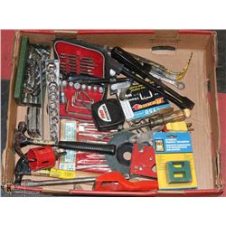 ESTATE TOOL LOT WITH A  MIXTURE OF TOOLS
