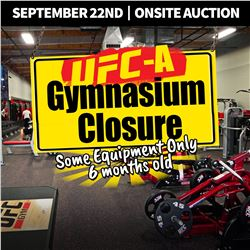 WELCOME TO KASTNER AUCTIONS ONSITE UFC GYM AUCTION