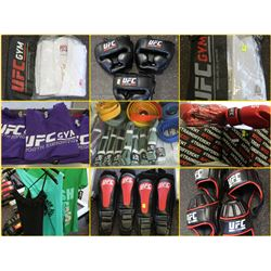 FEATURED ITEMS: NEW UFC BRAND TRAINING GEAR