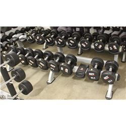STAR TRAC DOUBLE TIER DUMBBELL RACK
