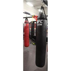 BLACK UFC 100LB UFC HEAVY BAG
