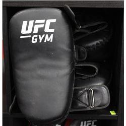 LOT OF 4 UFC TRAINING KICK PADS