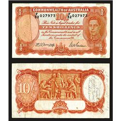 Commonwealth of Australia, 1938-40 Issue Short Snorter From Guadalcanal.
